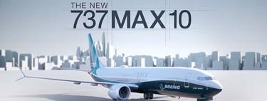 Boeing muestra su primer avión 737 MAX 10, el más grande de la familia MAX, que llega a competir contra el Airbus A320neo