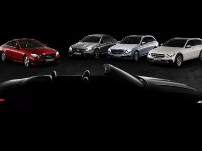 Mercedes nos da una probadita del nuevo Clase E Cabrio antes de su debut en Ginebra