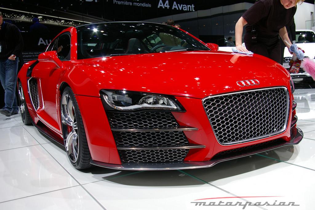 Foto de Audi R8 TDI Le Mans en el salón de Ginebra (2/19)