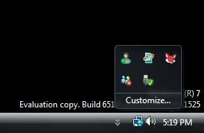 Area de Notificacion en Windows 7