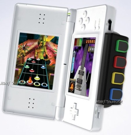 Accesorio para Nintendo DS para jugar a Guitar Hero: On Tour