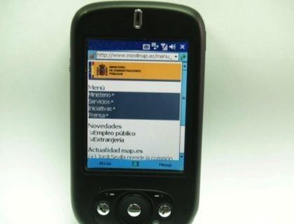 El Ministerio de Administraciones Públicas lanza su web móvil
