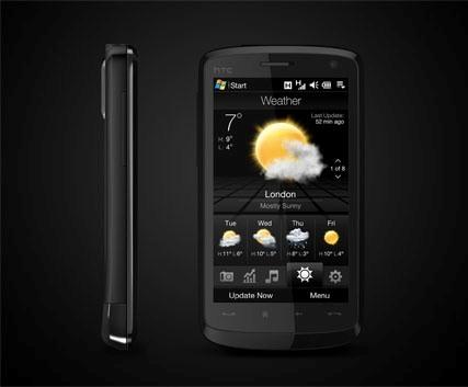 HTC Touch HD en noviembre