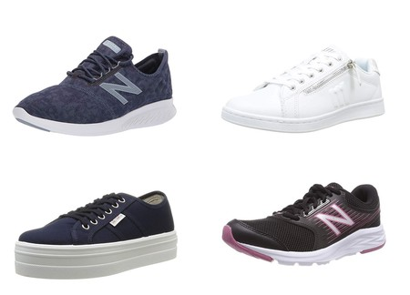 Chollos en tallas sueltas de zapatillas New Balance, Victoria o Mustang en Amazon