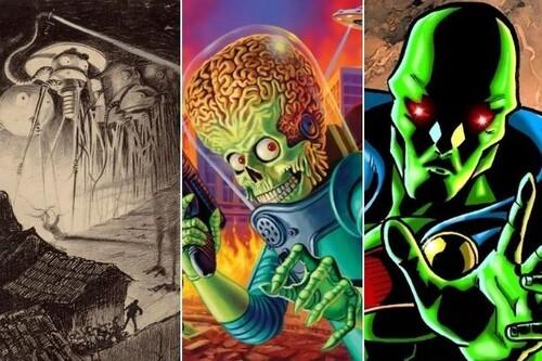 ¡Ojo con el planeta rojo! Los nueve marcianos más famosos de todos los tiempos