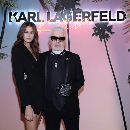 Así ha sido la súper fiesta que han organizado Karl Lagerfeld y Kaia Gerber para presentar su colección en París