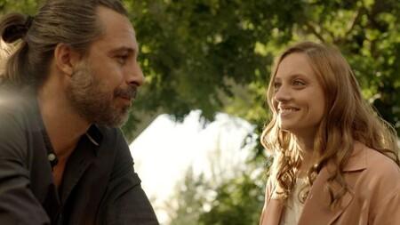 Lucas y Sara en la vuelta de Los hombres de Paco