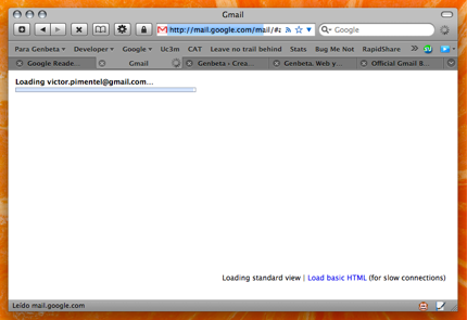 Mejoras en Gmail: pantalla de inicio modificada