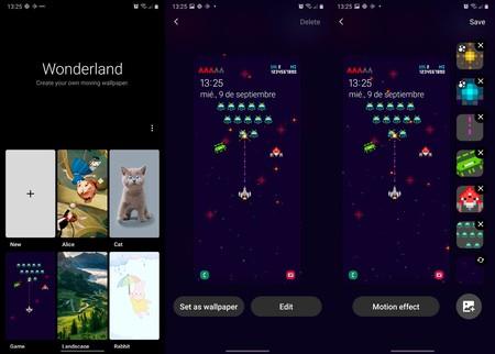 Wonderland Fondos Animados Samsung Galaxy