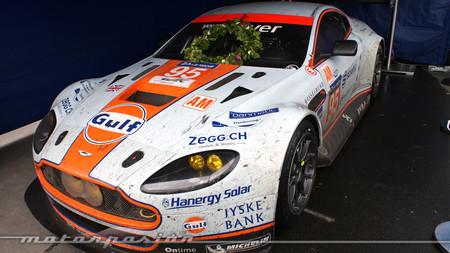 El Aston Martin vencedor en Le Mans