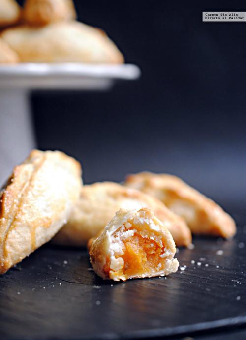 Pasteles de boniato y anís. Receta tradicional con sabor a antaño