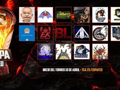 Así será la TGX Copa FED de Dota 2 con 16 de los mejores equipos españoles de la liga regular