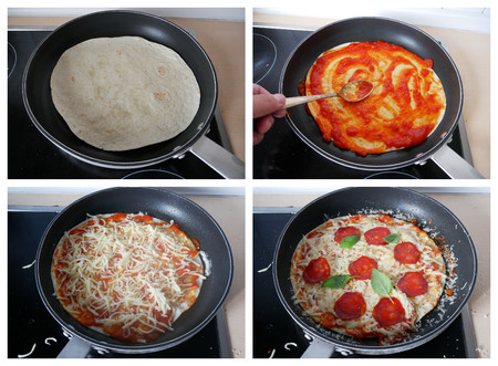 Collage Pizzadilla