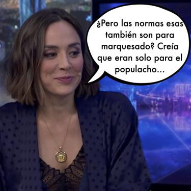 La gran cagada de Pablo Motos durante la disculpa pública de Tamara Falcó por haberse saltado las medidas anti-covid