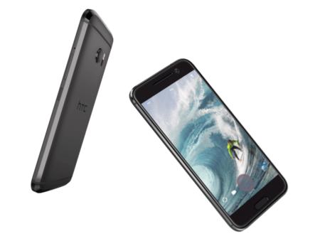 HTC 10 en color gris y negro