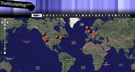 The movie map, o dónde localizar los rodajes de las películas en el mundo