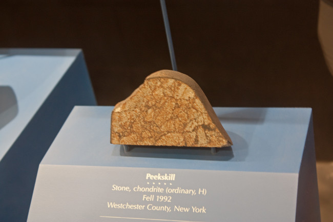 Peekskill Meteorite In Museum Of Natural History