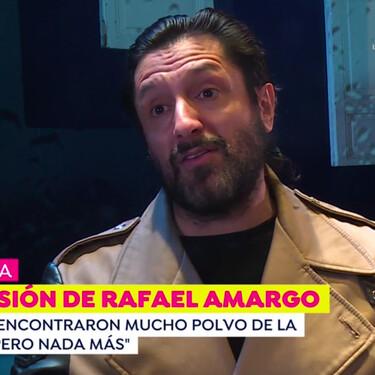 Rafael Amargo da la cara por primera vez en televisión: esta es su versión sobre la detención policial