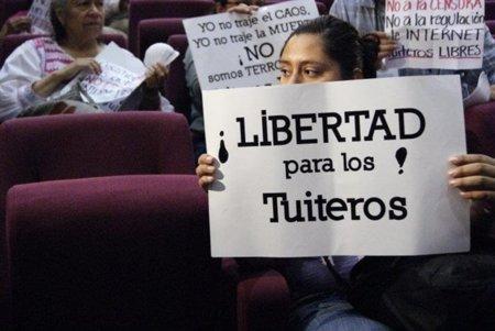 La #LeyJavierDuarte para meter miedo a los twitteros de Veracruz