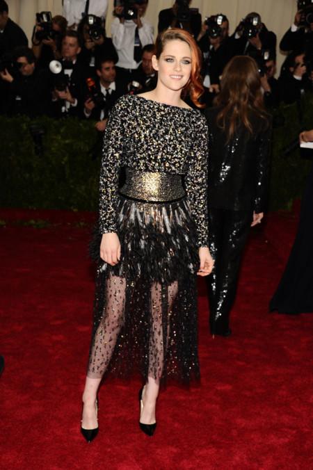 Kristen Stewart Gala MET 2014 peor vestidas