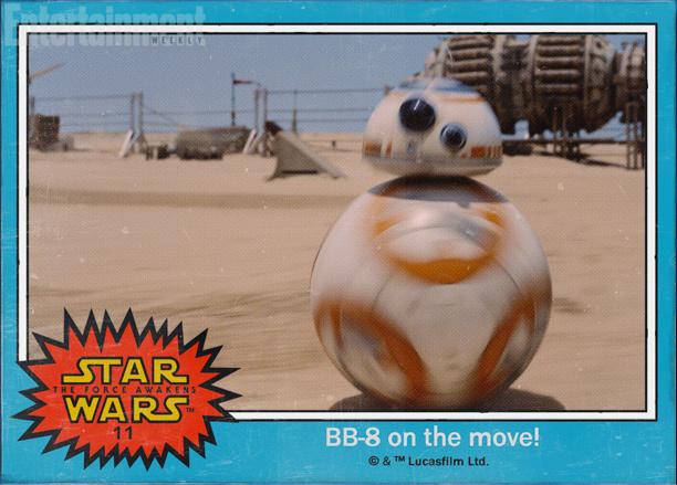 Foto de 'Star Wars: El despertar de la fuerza', imágenes oficiales en forma de cromos (1/8)