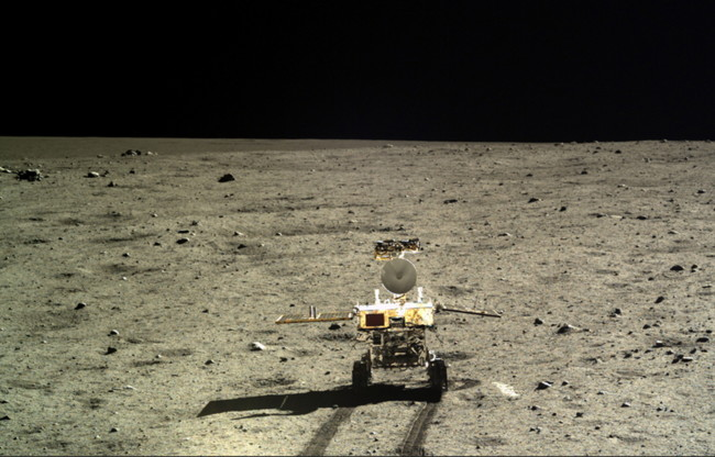 Chang E 3 Rover Moon
