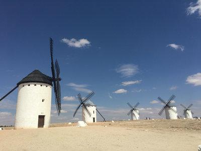 Los molinos de viento de Campo de Criptana