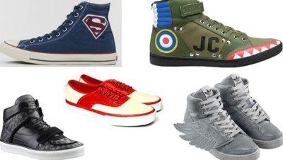 Diez originales zapatillas para este Otoño-Invierno 2010/2011, parte I
