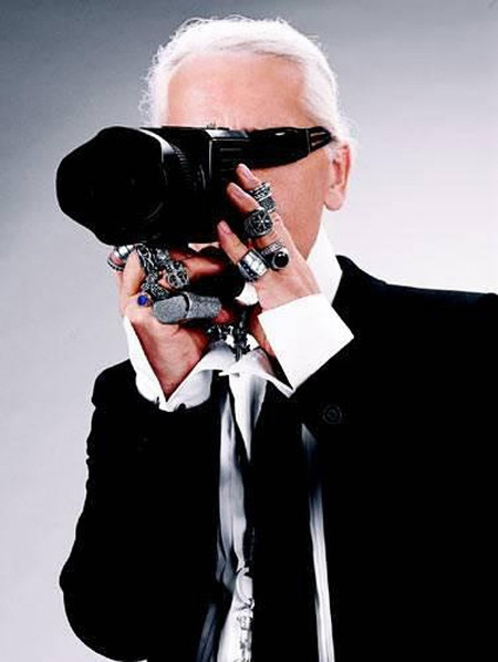 Famosos Fotografos I Internacionales 09 Karl Lagerfeld