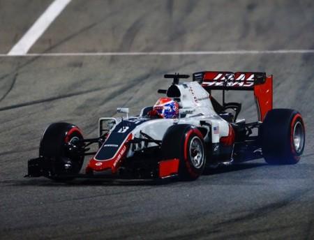 Grosjean Gp Barein 2016