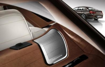 Bang&Olufsen pone su tecnología de sonido a bordo del BMW 6 para que dentro solo se escuche música