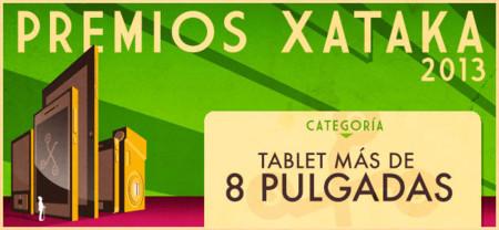 Vota por el mejor tablet de más de 8 pulgadas en los Premios Xataka 2013