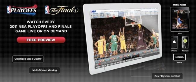 Oferta de streaming en la NBA