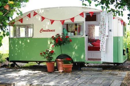 Casas poco convencionales: Constance, una acogedora caravana