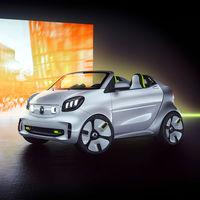 smart forease: un 'mini roadster' eléctrico para celebrar los 20 años de la marca en el Salón de París 2018