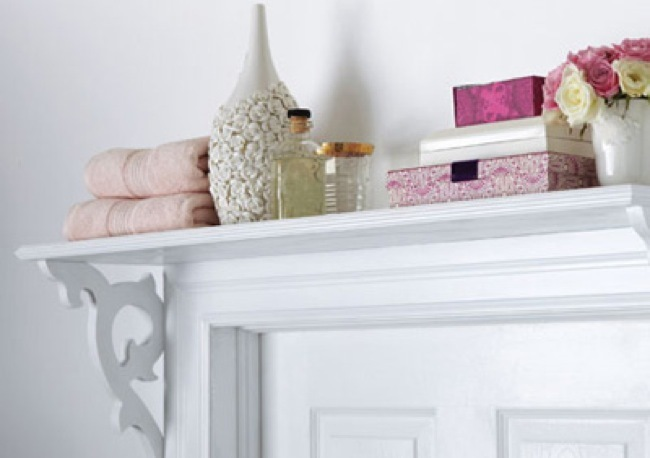buena o mala idea un estante encima de una puerta