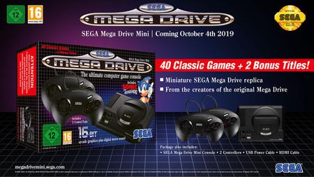 Sega Mega Drive Mini Pack