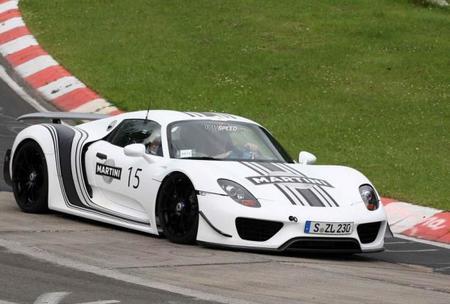 El Porsche 918 Spyder se viste de Martini