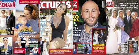 Las claves del distanciamiento entre Rocío Carrasco y su hijo David; el panto-posado veraniego de Anabel Pantoja y Kiko Rivera a puntito de vender Cantora: Estas son las portadas de la semana del 12 de mayo