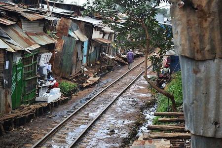1024px Kibera Slum Railway Tracks Nairobi Kenya July 2012