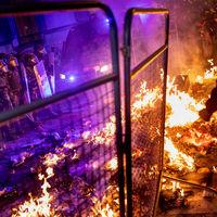 ¿Son excepcionales los disturbios del procés? Barcelona lleva una década quemando contenedores