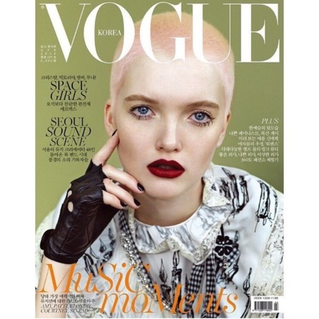 Vogue Korea:  Ruth Bell