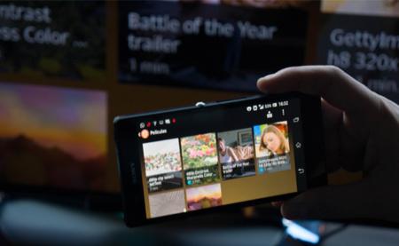 Compartiendo la pantalla del móvil en el televisor...a través del mando a distancia con NFC