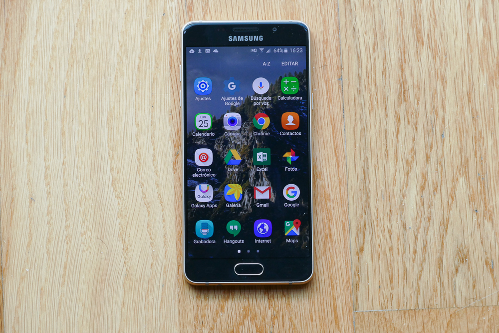 samsung galaxy a5 2016 an lisis review con. Black Bedroom Furniture Sets. Home Design Ideas