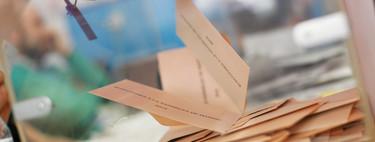 El voto por correo ha caído un 9% este año. Y pese a todo está habiendo colas en las oficinas