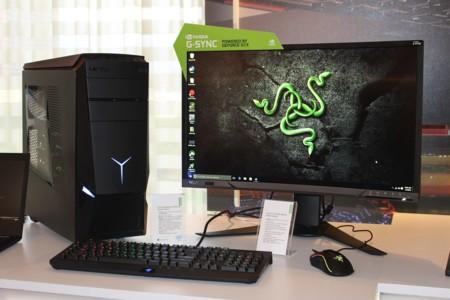 Lo nuevo de Lenovo y Razer es una PC con dos GTX 970 y un monitor curvo con G-SYNC