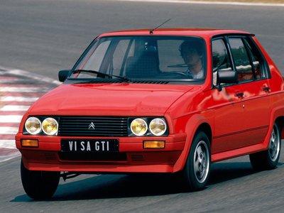 30 años del Visa GTI 115 CV, el deseado patito feo de Citroën