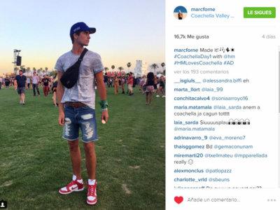 Los looks de nuestros queridos instagramers en Coachella: ¡todos atentos!