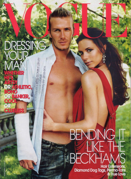 Beckham Vogue USA portada