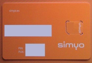Simyo cambia tu SIM por una microSIM gratis
